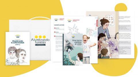 Alumbrando Túneles. Proyecto psicoeducativo para ayudar a profesores, alumnos y familias a afrontar la pandemia COVID-19
