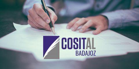 Cosit Badajoz. Colegio Oficial de secretarios, interventores y tesoreros. Administración local de la provincia de Badajoz.