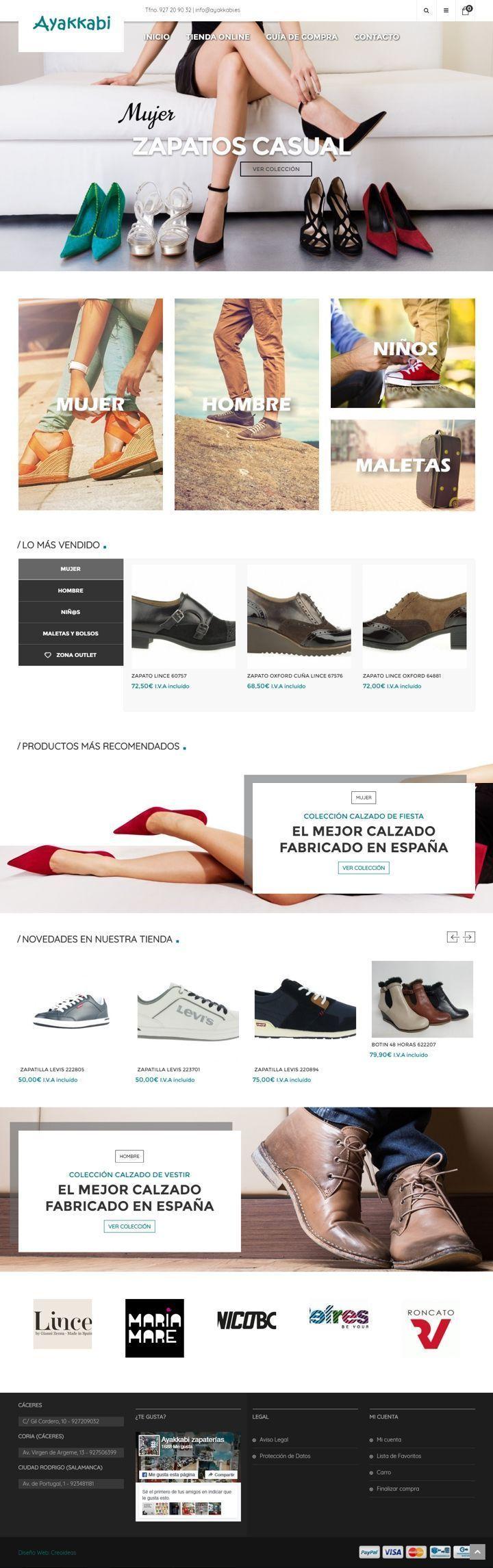 Ayakkabi Zapaterías Cáceres - Tienda Online de Calzado