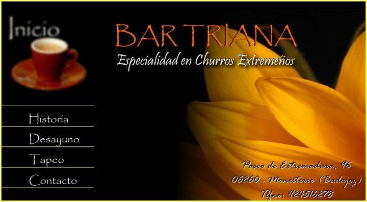Bar Triana Desayuno con Churros - Monesterio (Badajoz)