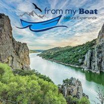 From My Boat. Rutas en Barco por el río Tajo. Portezuelo (Cáceres)