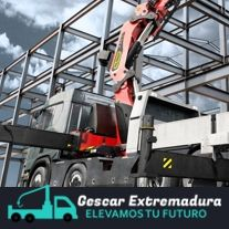 Gescar Extremadura. Camiones y Grúas Palfinger. Venta de equipos nuevos y ocasión.