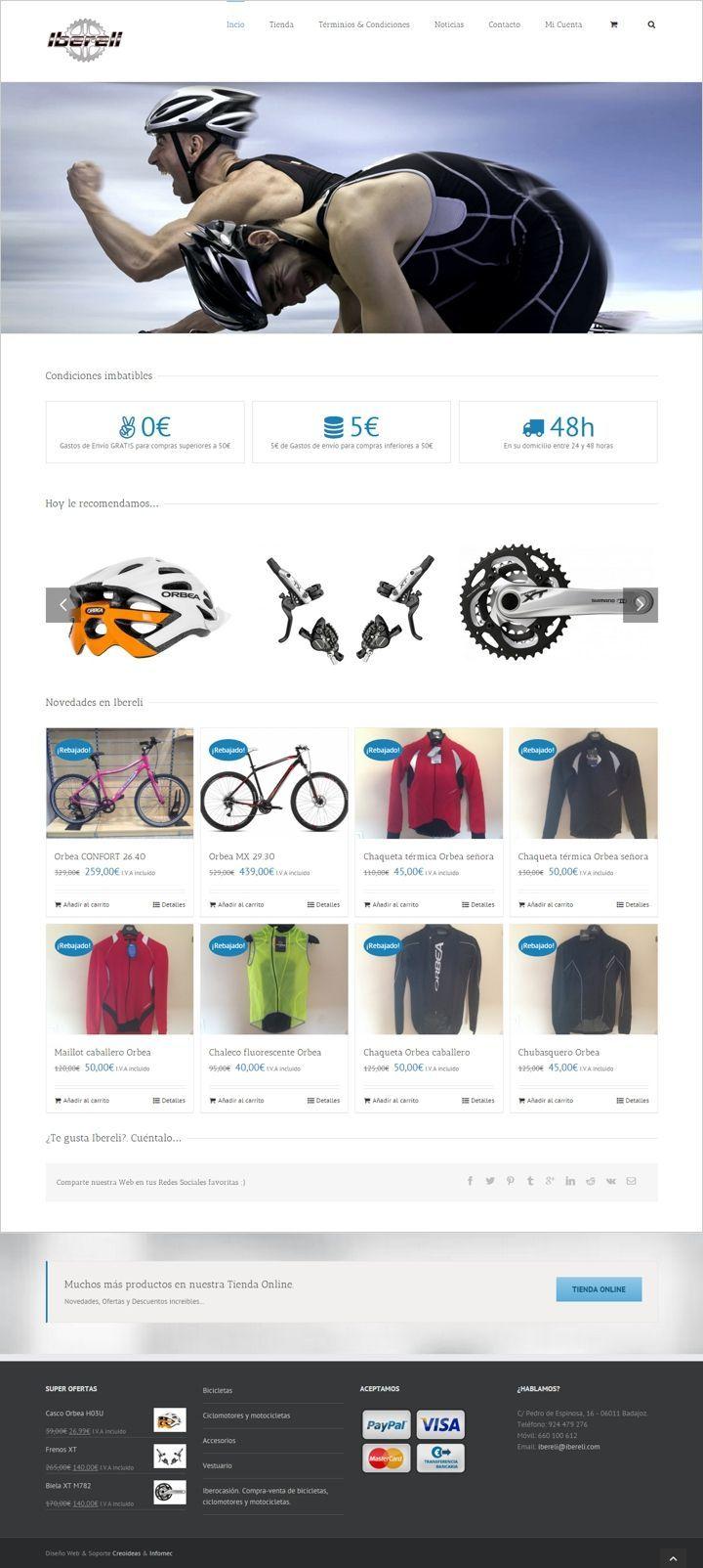 Ibereli Tienda Online de Bicicletas y Motocicletas - Badajoz
