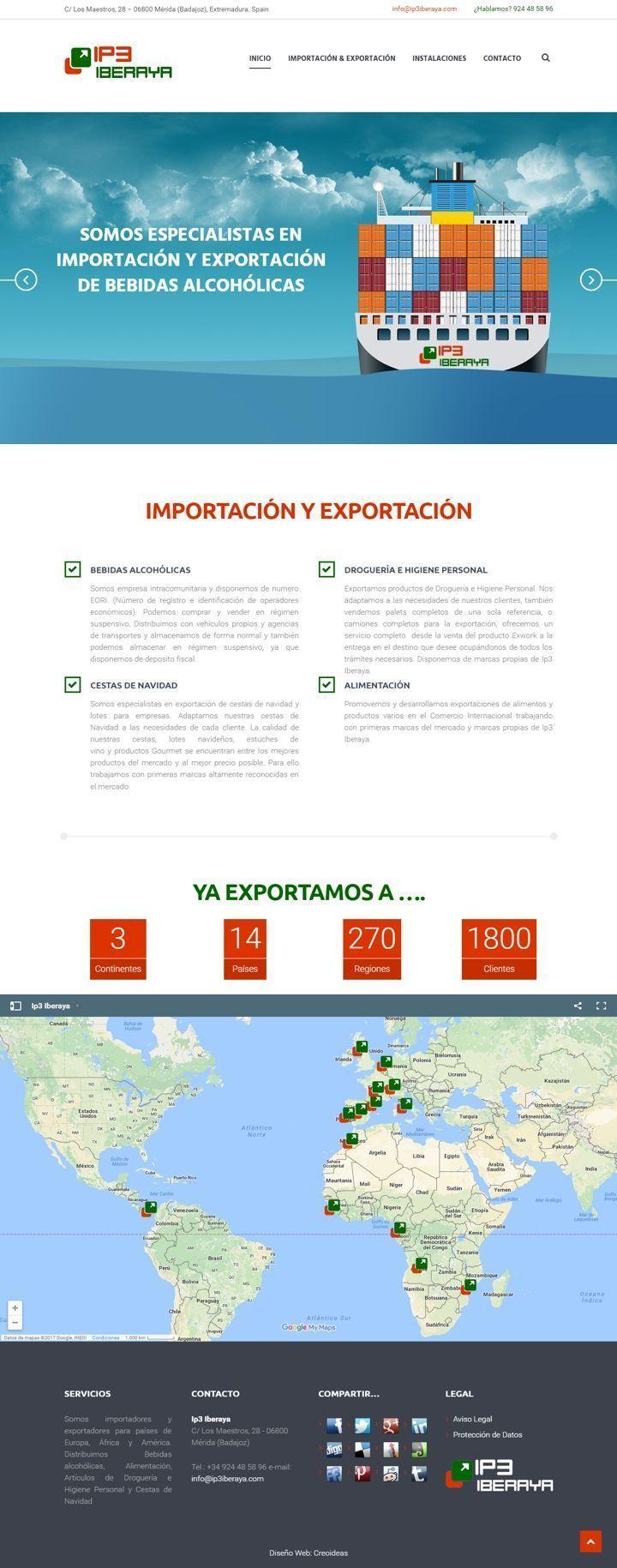 Ip3 Iberaya - Importación y Exportación Mérida (Badajoz)