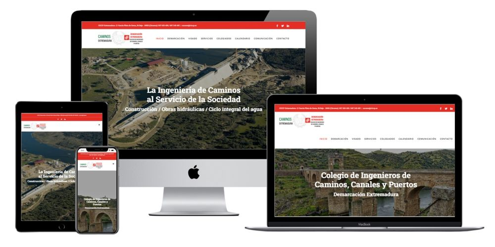 Colegio de Ingenieros de Caminos, Canales y Puertos Demarcación de Extremadura. CICCP Extremadura.