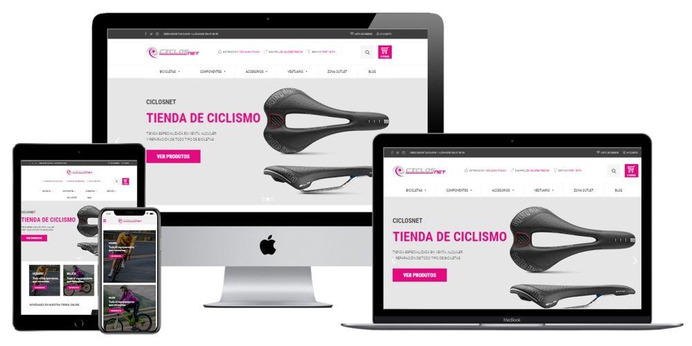 Ciclosnet. Tienda especializada en la venta, alquiler y reparación de bicicletas en Mérida (Badajoz). Extremadura.