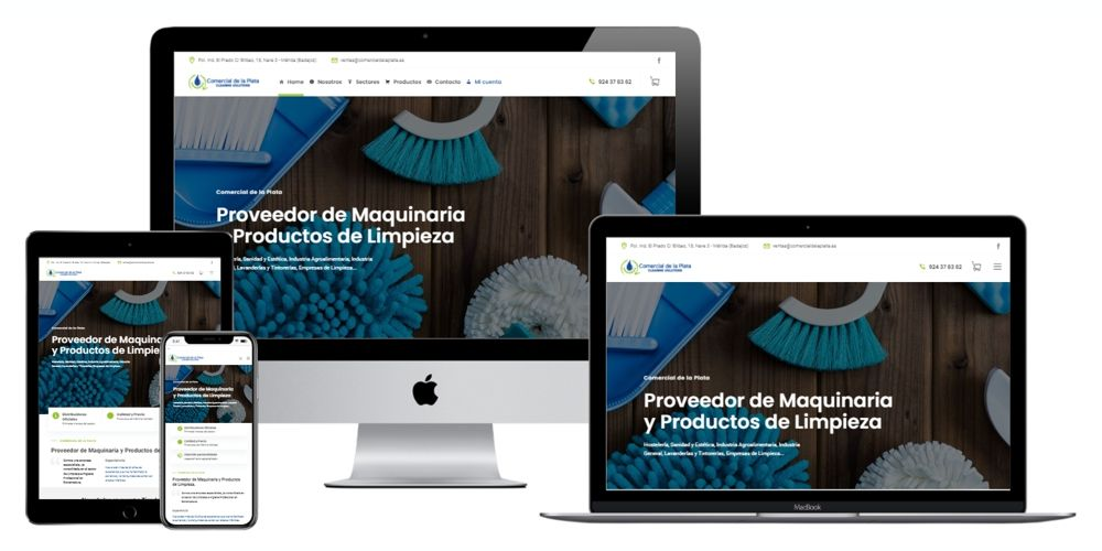 Comercial de la Plata Proveedor de Maquinaria y Productos de Limpieza.