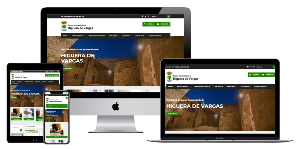 Excmo. Ayuntamiento de Higuera de Vargas (Badajoz). Extremadura.