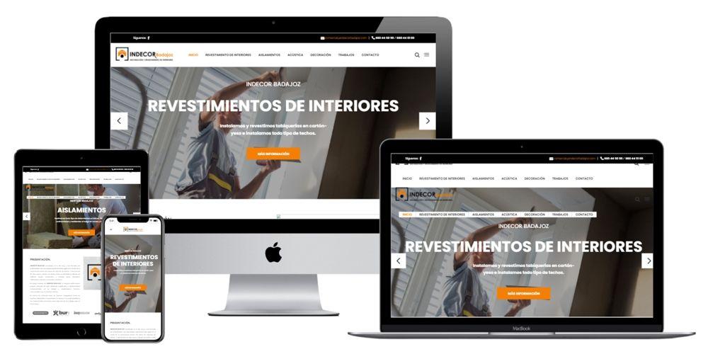 Indecor Badajoz Aislamientos con Pladur y Reformas con Cartón-Yeso.