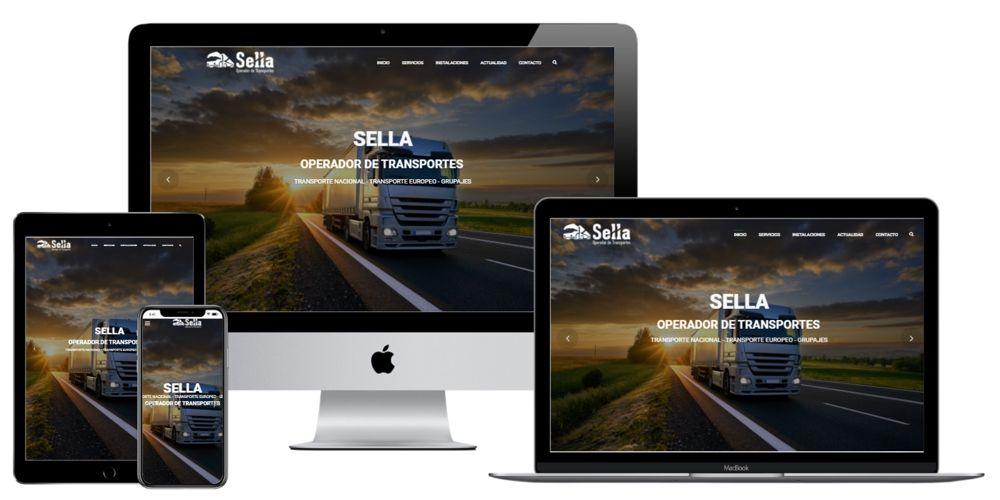Operador de Transportes Sella. Transporte Nacional, Europeo y Grupajes