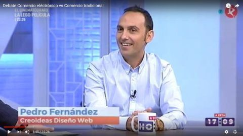 Debate: Comercio electrónico vs Comercio tradicional en el Programa A Esta Hora de Canal Extremadura